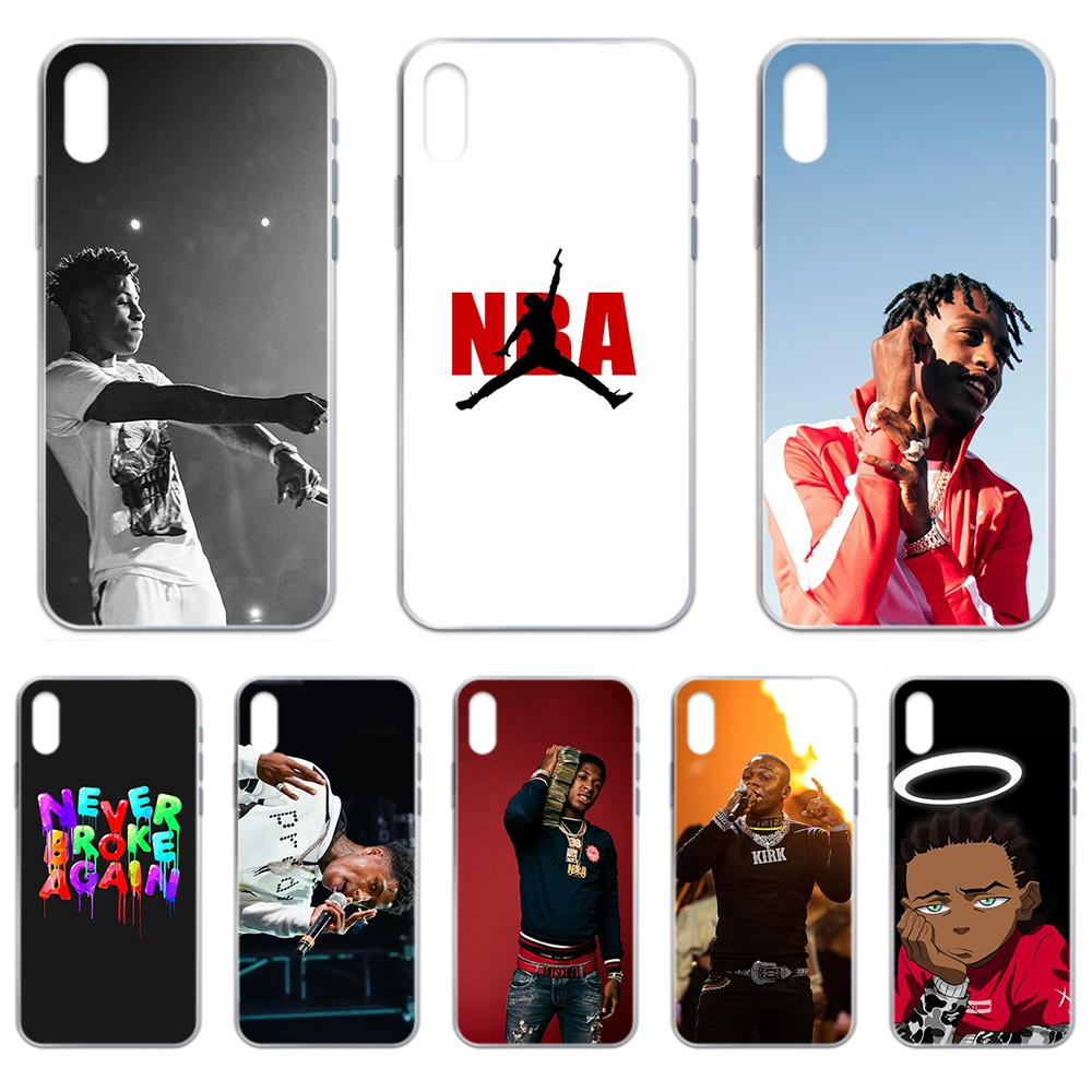 Never Broke Again NBA YoungBoy coque Transparent Phone Case For iphone 4 4S 5 5C 5S