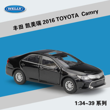 2016 TOYOTA Camry WELLY Cars 1/36 Metal Alloy Diecast Model Cars Toys image
