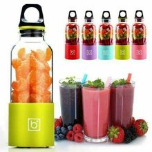 500ml Portable Electric Juicer Cup Mini USB Rechargeable Juicer Blender Maker Shaker Squeezers Fruit Juice Extractor 500ml electric juicer cup usb rechargeable vegetables fruit juice maker bottle juice extractor blender mixer squeezers reamers