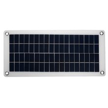 Semi-flexible 18V/5V 10.5W Portable Solar Panel Charger For 12V Car Boat Motor Battery Charger DIY Solar System NEW kinco 120w 18v semi flexible solar panel monocrystalline silicon folding solar system power supply for car battery charger