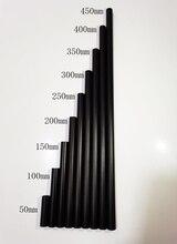 جديد تصميم جزء أسود الألومنيوم سبائك 15 مللي متر قضيب 5 سنتيمتر 10 سنتيمتر 15 سنتيمتر 20 سنتيمتر 25 سنتيمتر 30 سنتيمتر 35 سنتيمتر 40 سنتيمتر 45 سنتيمتر ل 15 مللي متر قضيب السكك الحديدية دعم نظام