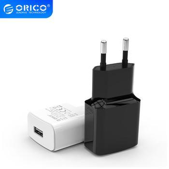 цена на ORICO Mini USB Wall Charger 5V 1A 2A USB Travel Mobile Phone Charger EU Plug for Samsung Xiaomi mi 8 Huawei iphone