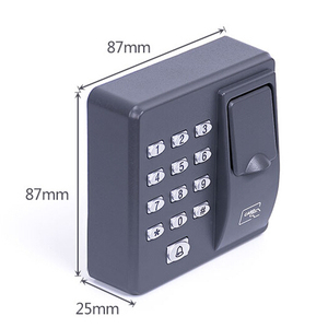 Image 2 - BX6FY Biometric Fingerprint Access Control Machine Digital Electric RFID Reader Scanner Sensor Code System For Door Lock