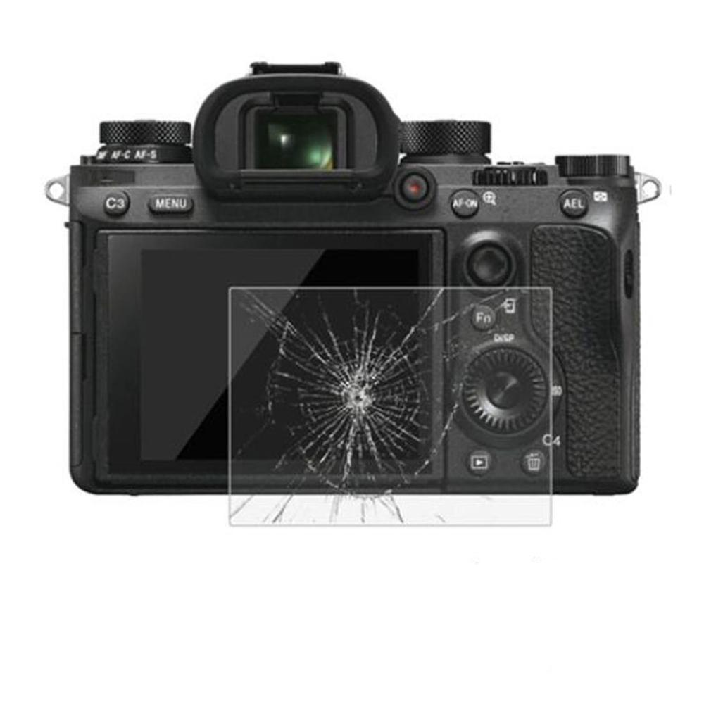 Tempered Glass Screen Protector Glass For Sony A7II A7III A9 A9 A77 / A7R A7S A6500 RX100 For Canon SX430 M50 For Pentax K-1 K1