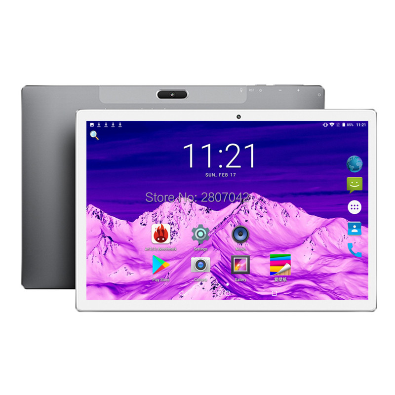 2020 Google Android 8.0 Pie 10 Inch Tablet 4G Phone Call 128GB EMMC Storage 1920*1200 IPS WIFI Tablets 10 10.1 Youtube GPS Pad
