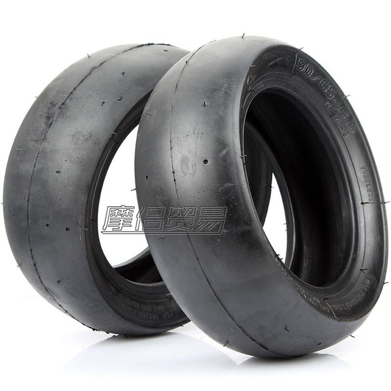 1pc pneu sous vide pneu slick roues pièces de scooter 49cc mini vélo 49cc mini moto dirtbike 90 65 6.5 110 50 6.5 pneus