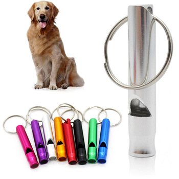 Puppy Pet Dog Whistle 70mm Ultrasonic Flute Stop Barking Ultrasonic Sound Repeller Dog Training Pet Supplies image