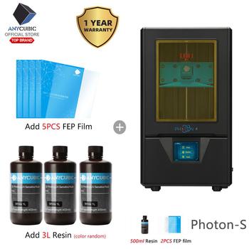ANYCUBIC photon-s Photon Plus rozmiar drukarka UV SLA drukarka 3D drukarka 3D 3d Off-Line Impresora 3D Drucker Impressora żywica UV tanie i dobre opinie ANYCUBIC 3D Printer Photon 20~30mm hour 0 01-0 2mm English 20mm h 405nm Photosensitive Resin Anycubic Photon Slicer 25 ~ 100um