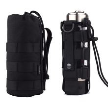 Holder Tactical Pouches Drop-Bag Water-Bottle-Pouch Hunting-Accessory Military-Kettle