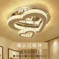 Хрустальные потолочные светильники в форме сердца  современный потолочный светильник  плафонье для спальни  гостиной  Led  домашний декор  св...