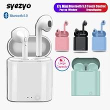 I7s TWS słuchawki Bluetooth Mini sport słuchawki wodoodporne słuchawki douszne słuchawki muzyczne dla Huawei Iphone Xiaomi bezprzewodowe słuchawki