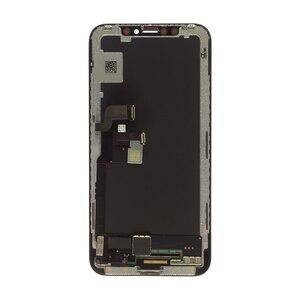 Image 4 - ل فون X شاشة LCD و الجمعية محول الأرقام مع الإطار استبدال أسود GX الصلب OLED ل فون X