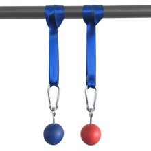 New 1 Pair Hand Grip/Fitness Ball Arm Muscles Strength Training Exerciser Outdoor Gym Climbing