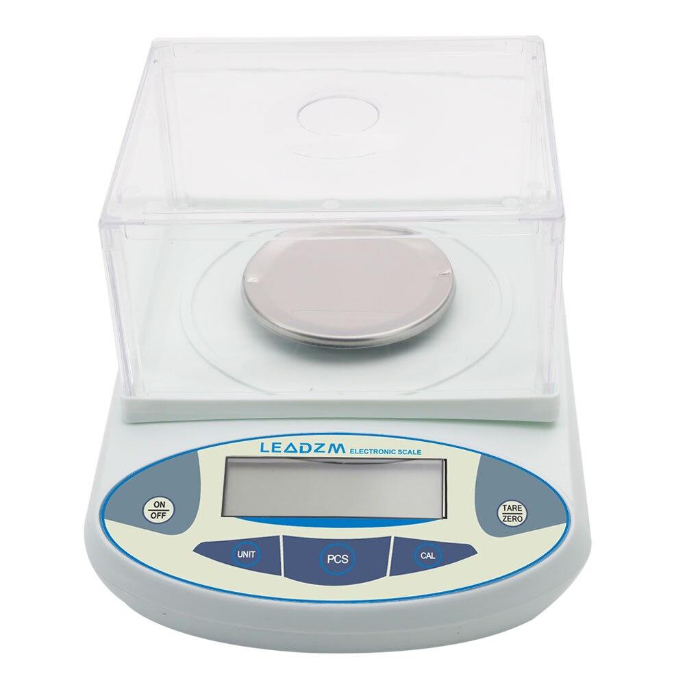 Balance analytique de laboratoire LCD numérique 300g/0.001g Balance de bijoux de précision électronique Mini Balance de poids Portable