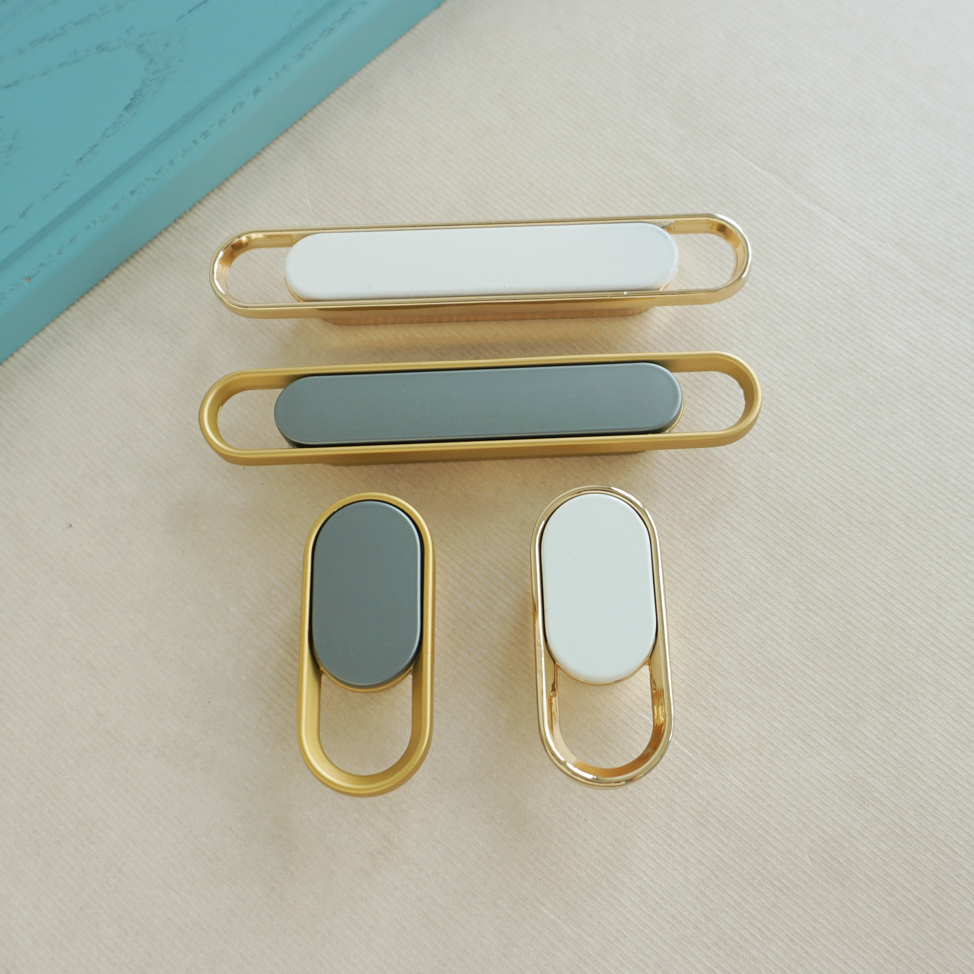 Сплав мебель кнопки и ручки Шкаф Ручка ящика шкафа простота Ручка мебельная фурнитура