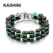Rock Biker Punk  Bicycle Bike Bracelet Bangles Stainless Charm Motorcycle Chain Friendship Men Jewelry