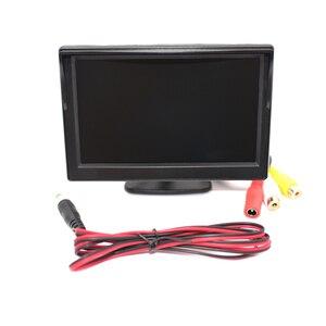 """Image 1 - Babi Zurück Spiegel Baby Auto Kid Monitor Ladegerät 5 Zoll TFT LCD 5 """"HD Digital Bildschirm Reverse Rückansicht kamera DVD VCD"""