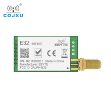 E32 170T30D lora sx1278 sx1276 170 mhz rf módulo 1 w 170 mhz uart transceptor sem fio antena de longa distância sma k