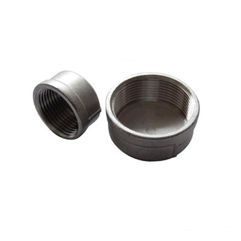 BSPT 1-1/4 DN32 Pipe Cap Female Stainless Steel SS304 Threaded Pipe Cover Cap For Pipe round head plug tube pipe fittings 32mm external diameter pipe plug cover cap stainless steel internal diameter 28 5mm 20pcs