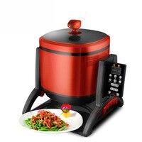 220V 6L Automatische Intelligente Elektrische Kochen Maschine Braten Maschine  Der Chinesische Lebensmittel Multifunktionale Roller Kochen Maschine
