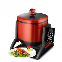 6L Multifunctional Drum-Type Electric Stir-Fry Maker to Cook Chinese Food