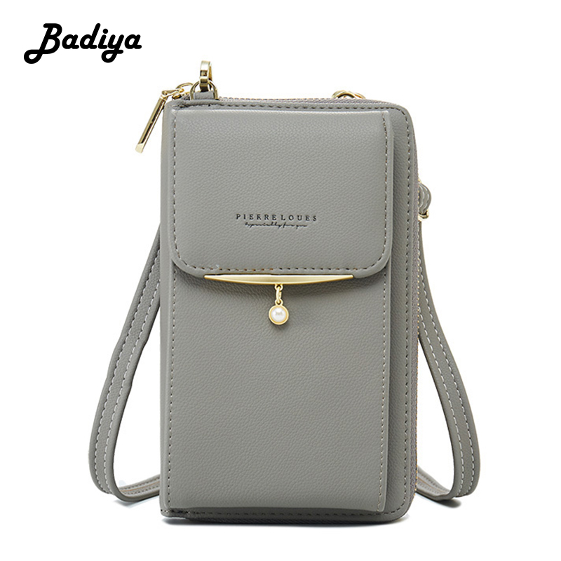 Fashion Women Wallet Cell Phone Wallet For Woman Card Holders Women's Handbag Coin Purse Ladies Clutch Messenger Shoulder Bag