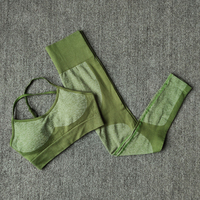 ArmyGreen-11 colors seamless yoga suit