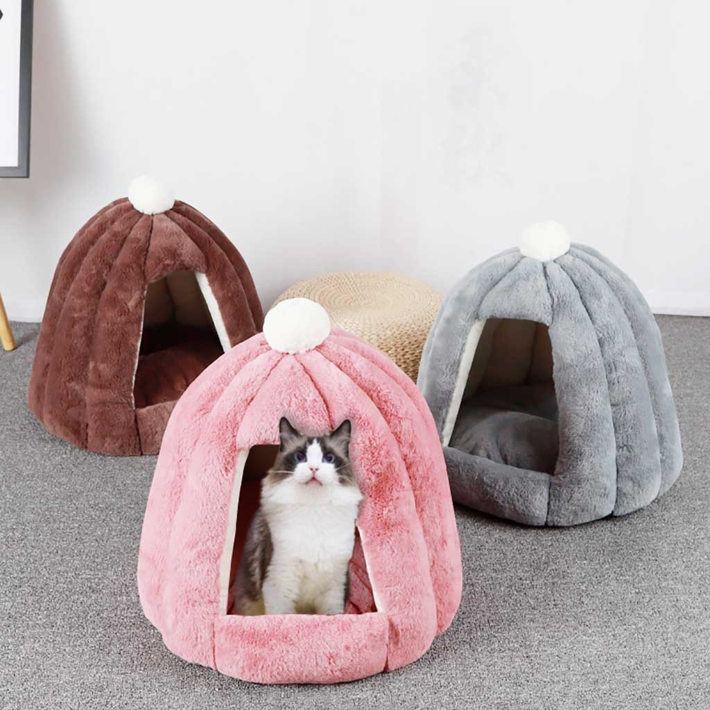 Warm Dog Bed for Winter | Small Dog | Cat