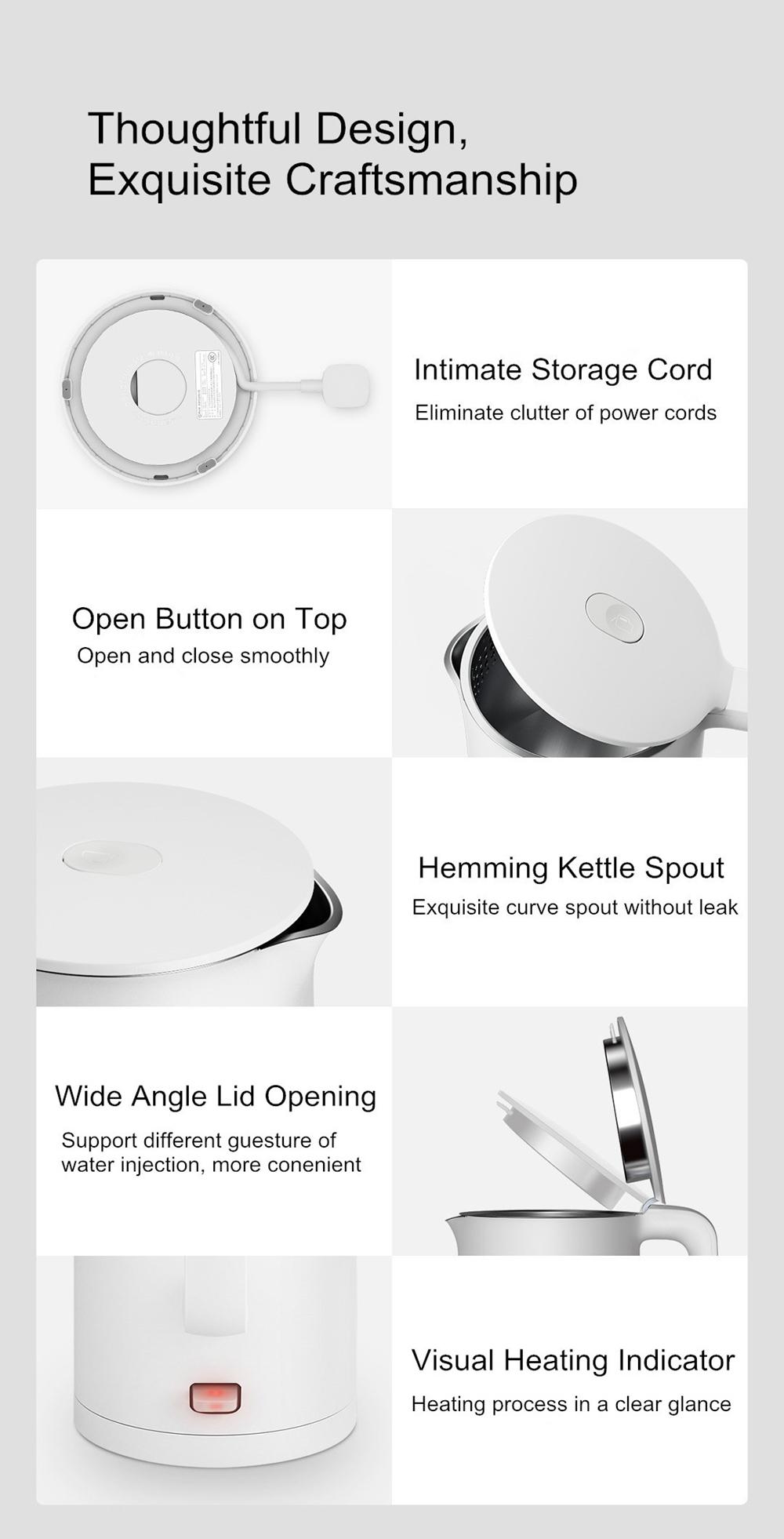 Xiaomi Electric Kettle 1A 1.5L 8