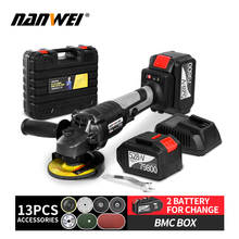 Electric Brushless angle grinder lithuim battery cordless angle grinder