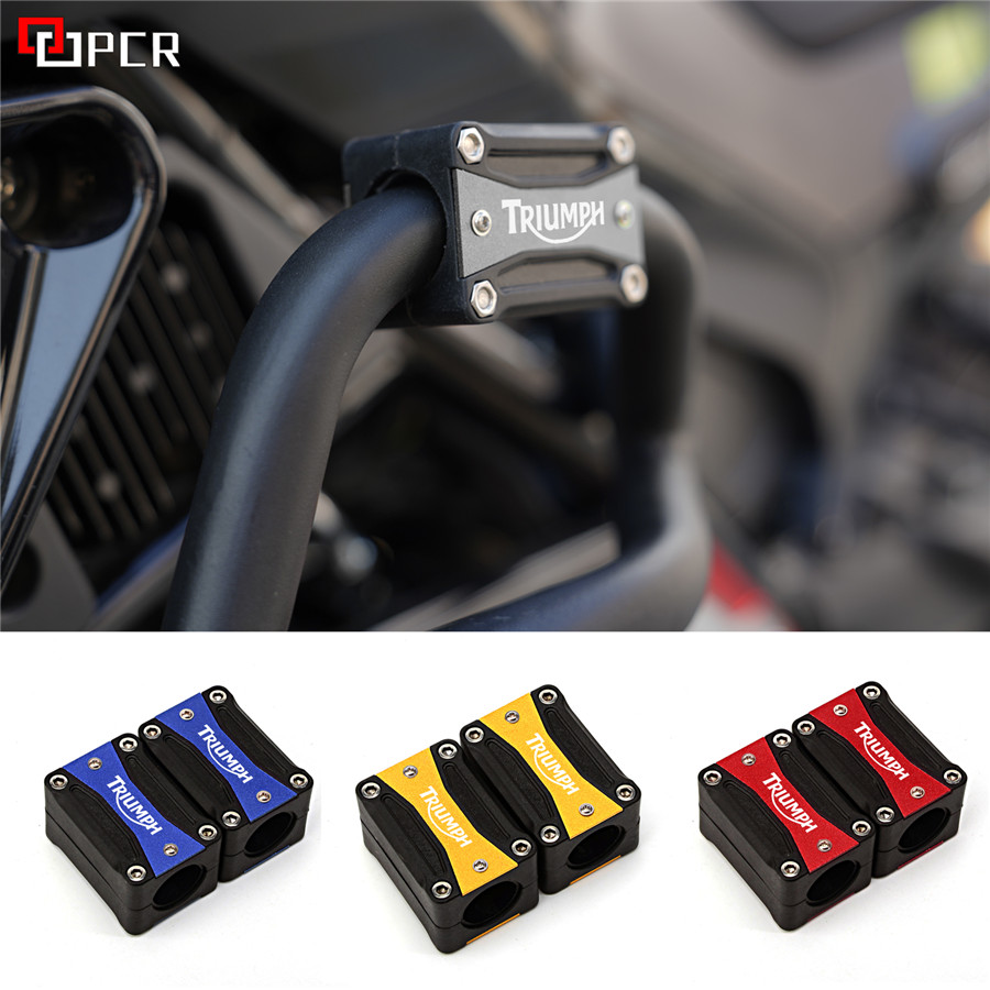 Image 2 - For Triumph Tiger Explorer 1200 1050i 955i 800/XC Trophy Speed Triple 1050i 900  Engine Guard Bumper Protection Decorative BlockCovers & Ornamental Mouldings   -