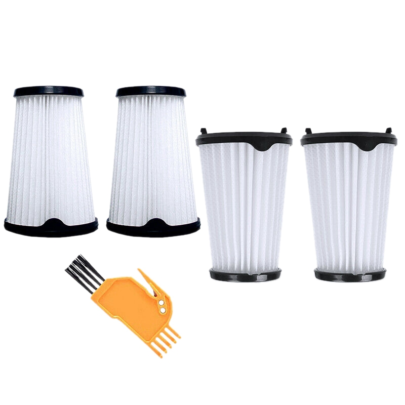 Hot 4-Piece Filter With Cleaning Brush Set For AEG CX7 CX7-2 AEF150 Vacuum Cleaner