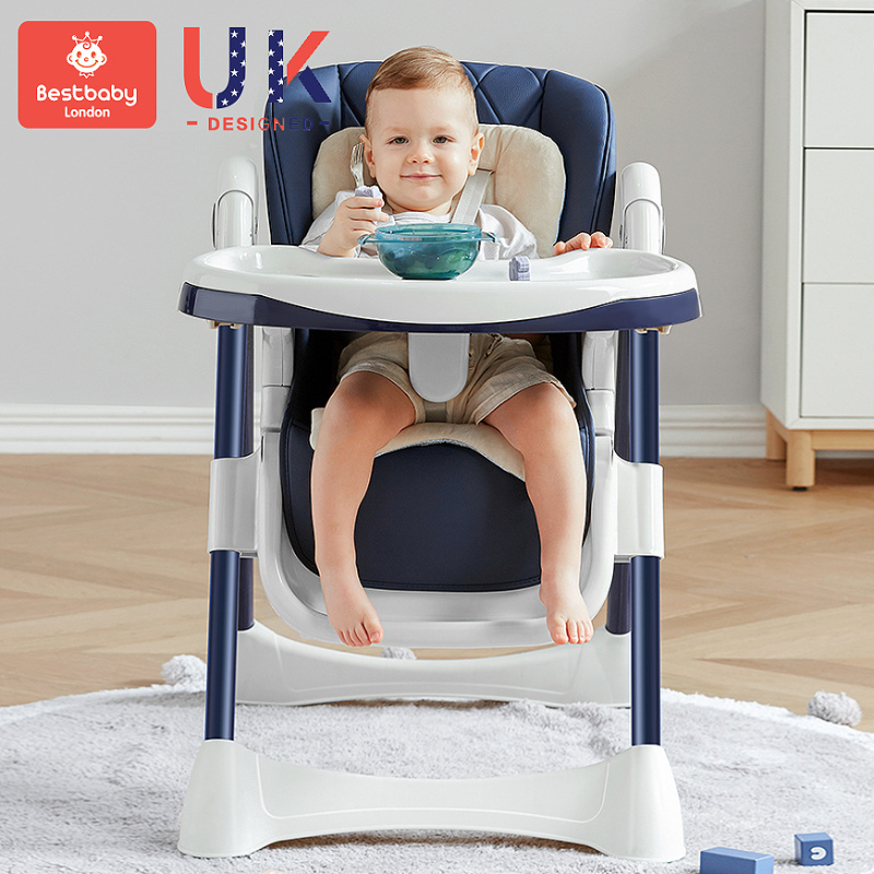 Portable Foldable Baby Dining Chair Installation-Free Home Cartoon Child Eating Chair Reclinable Children Dining ChairHigh Chair