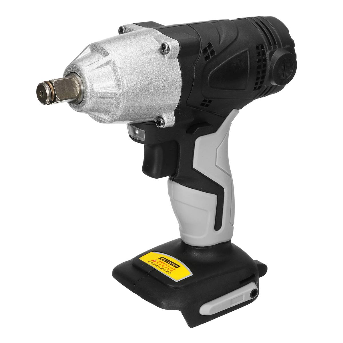 480Nm 3600rpm Li-Ion Cordless Impact Wrench 1/2 Electric Wrench Replacement Wrench Power Tool Without Battery Accessories