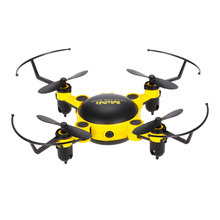 TOYS KY901 2.4G Wifi FPV 0.3MP Camera Drone Foldable Mini Drone Arm Altitude Hold RC Quadcopter Quad Yellow