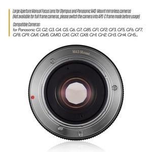 Image 4 - Andoer 25Mm F1.8 Handmatige Focus Camera Lens Grote Diafragma Fotografie Voor Fujifilm Fx Mount Mirrorless Canon Eos Olympus camera