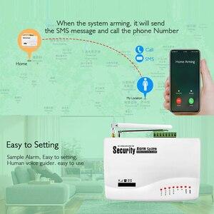 Image 4 - Wireless GSM Burglar Alarm System  Garage Detector Motion Sensor Detector Russia English Voice Security Protection Auto Dial DIY