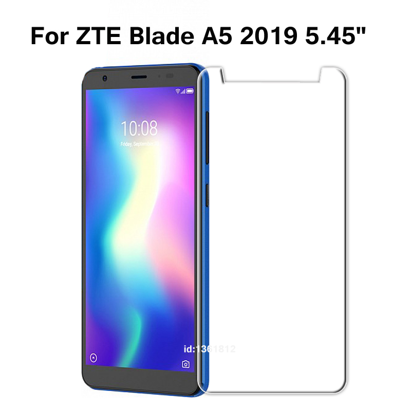ZTE Blade A5 2019 Tempered Glass 9H High Quality Protective Film Screen Protector Phone Cover Glass For ZTE Blade A 5 2019 5.45