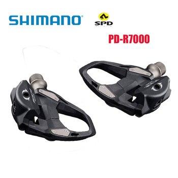 PD-R7000-pedales SPD de autosujeción para bicicleta de carretera, juego de tacos de...