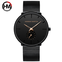 Men Watches Simple Stylish Small Dial Top Brand Luxury Quartz Watch Casual Business Stainless Steel Mesh Belt Waterproof Watch fashion simple stylish luxury brand crrju watches men stainless steel mesh strap thin dial clock man casual quartz watch black
