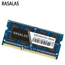 Rasalas New 4GB 8G Oперативная Nамять DDR3 1066Mhz SO-DIMM Notebook RAM 1.5v 204Pin Laptop Fully Compatible Memory Sodimm  Blue