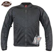 New Motorcycle Jacket Men Motocross Jacket Breathable Moto Jacket Wearable Motorbike Clothing With CE Protection