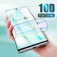 10D Hydrogel Film For Samsung Galaxy A10 A50 S10 S9 Plus Note 10 Pro 9 8 Protector Film On Samsung S8 S9 Plus S10 Lite Not Glass