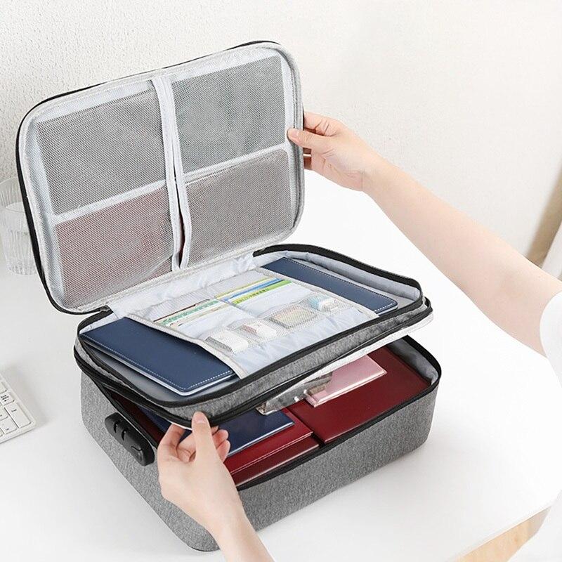 Ev ve Bahçe'ten Ev Ofis Depolama'de Kaliteli kumaş cüzdan pasaport tutucu büyük kapasiteli seyahat belge organizatörü çantası pasaport nakit kredi kartları title=