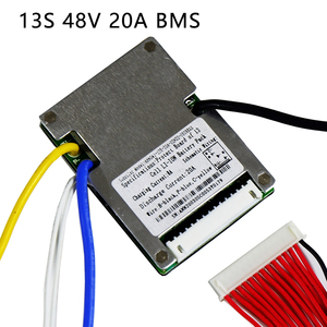 Image 3 - Li ion battery BMS 13S 48V 20A, 30A, 40A and 50A BMS For 48V 500W 2000W lithium ion battery pack With balance function