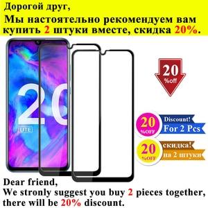 Image 3 - Tempered Glass Honor 20 Lite Light For Huawei Pro Armor Xonor View 20 Screen Protector Huawey Hono 20Lite Honer 20Pro V20 Onor V