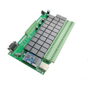 Image 4 - 32CH domoticaスマートホームキットオートメーションモジュールコントローラネットワークイーサネットtcp ipリレースイッチシステム 32 ギャング