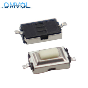 3*6*2.5mm 3*6*2.5H 3x6x2.5mm SMD White Push Button Switch Microswitch Tact Switch