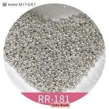 10g/pipe 15/0 miyuki contas redondas metalic 2500 pces 1.5mm japonês espaçador sementes contas suprimentos para diy jóias fazendo descobertas