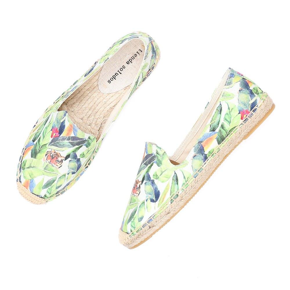 Womens Espadrilles Flat Shoes
